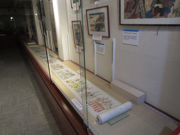 こち亀絵巻の展示は、明日(11日)が最終日です