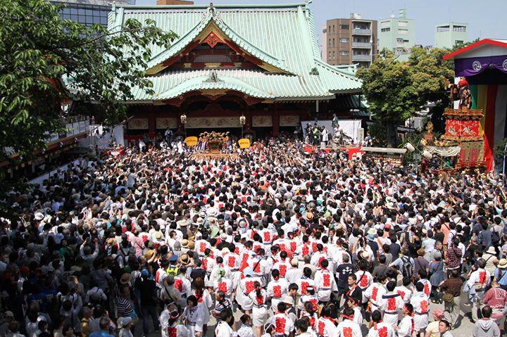 平成29年神田祭のドイツ語版の解説です。