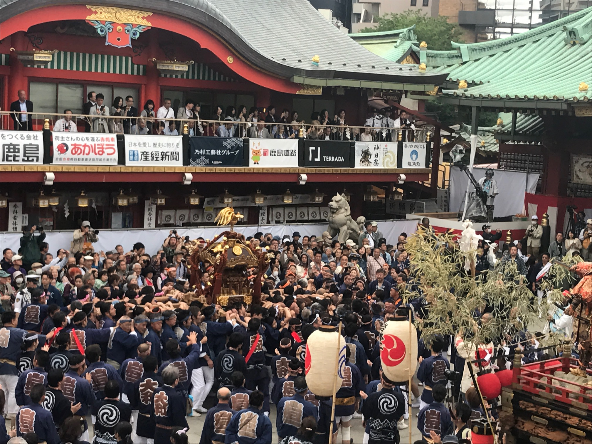 岩本町・東神田地区連合 神田大和町会・岩井会
