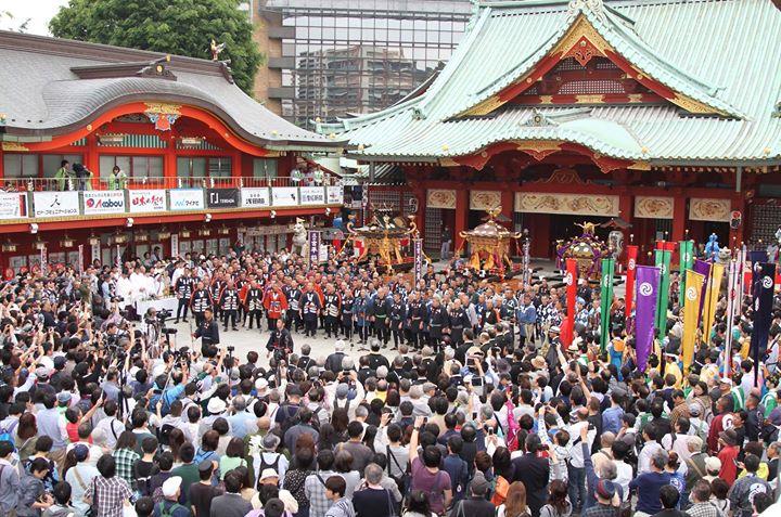 平成29年の神田祭の英語版の解説です。