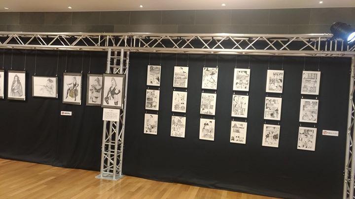 コミック魂の原画展「魂の絵師展」が始まりましたよ!