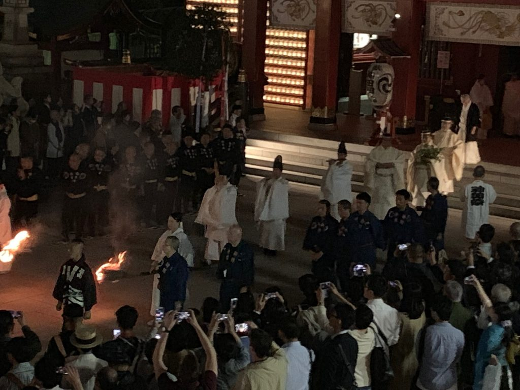 鳳輦神輿遷座祭